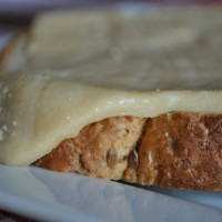 Welsh Rarebit Slices