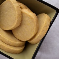 Maple Curry Shortbread