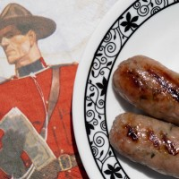 Canada Day Sausage